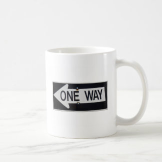 One Way Sign Coffee Mug