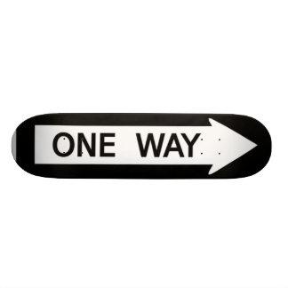 One Way Sign Skateboard