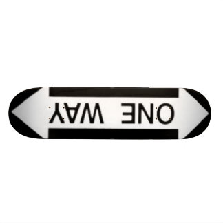 One Way Skateboard