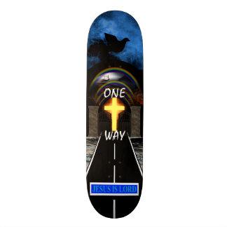 ONE WAY SKATEBOARD DECK