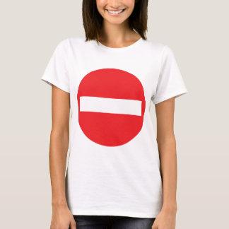 one-way street icon T-Shirt