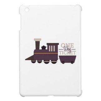 One Way Ticket Case For The iPad Mini