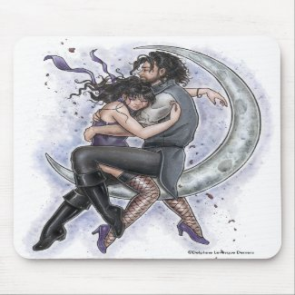 One Way Ticket To The Moon Romantic Love Mousepad mousepad