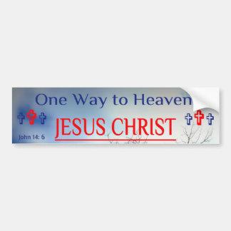 One Way to Heaven Bumper Sticker