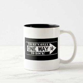 one way to rock mug