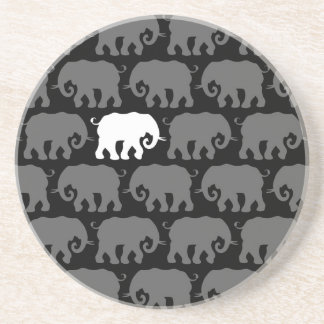 One White Elephant in a Herd Coaster