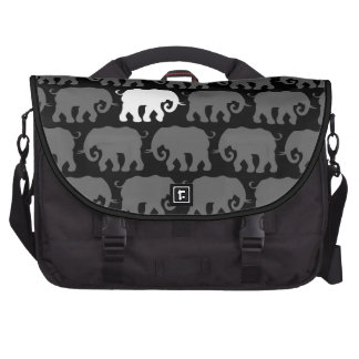 One White Elephant in a Herd Laptop Computer Bag