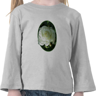 One White Rose Kids Tee Shirt