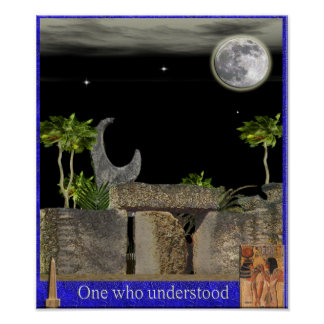 one who understood poster