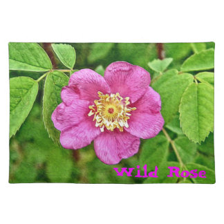 One Wild Rose Placemat