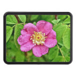 One Wild Rose Trailer Hitch Covers