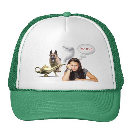 One Wish - German Shepherd Trucker Hat