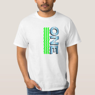 One with green waves T-Shirt
