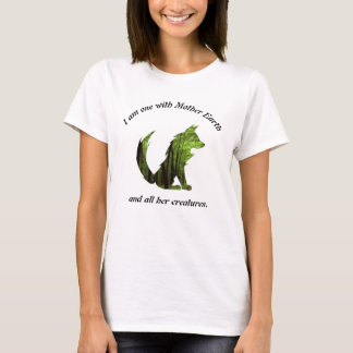 One With Mother Earth T-Shirt
