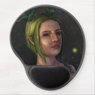 One with Nature - Fantasy Gel Mousepad