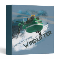 One With The Wind Graphic Binder