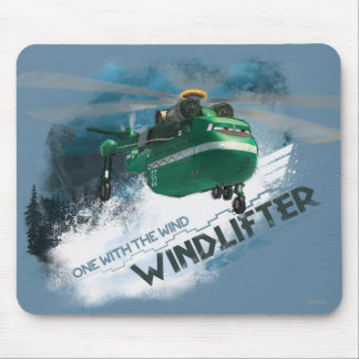 One With The Wind Graphic Mouse Pad