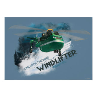 One With The Wind Graphic Poster