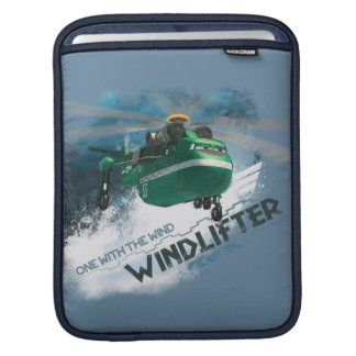 One With The Wind Graphic Sleeve For iPads