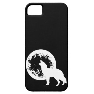 One Wolf Moon iPhone SE/5/5s Case