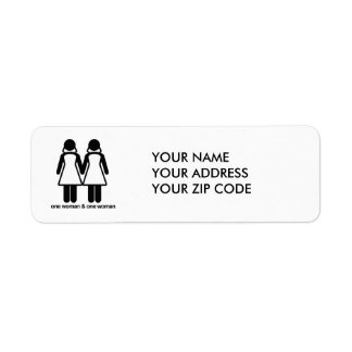 ONE WOMAN AND ONE WOMAN -.png Return Address Labels