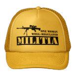One Woman Well Regulated Militia Hats