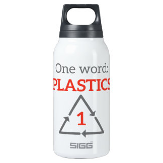 One word: Plastics Insulated Water Bottle