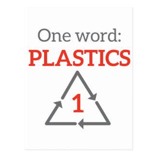 One word: Plastics Postcard