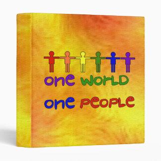 One World 3 Ring Binder