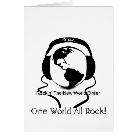 One World All Rock! Card