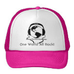 One World All Rock! - Womens Hats