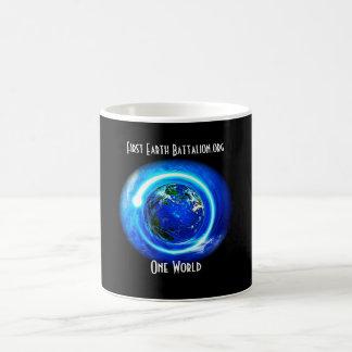 One World Coffee Cup, First Earth Battalion.org Coffee Mug