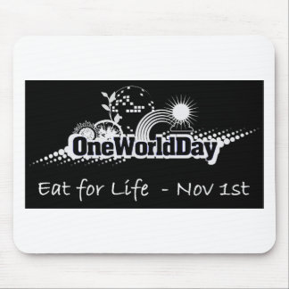 One World Day 1st November Mouse Pad