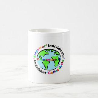 one world empower individually * embolden collecti coffee mug