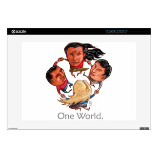 One World Global Community Laptop Skin