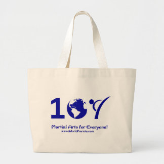 One World Karate Canvas Bags