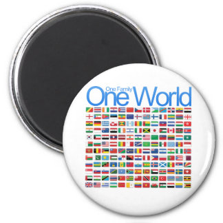 One World Magnet