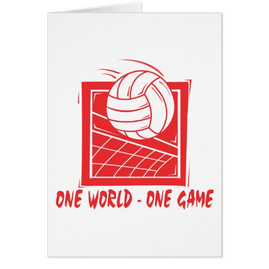 One  World One Game Volleyball Gift Card