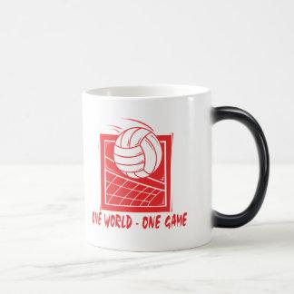 One  World One Game Volleyball Gift Coffee Mug