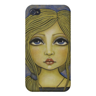 one world one heart angel iPhone 4 Case