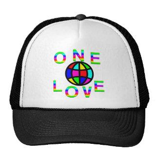 One World One Love Trucker Hat
