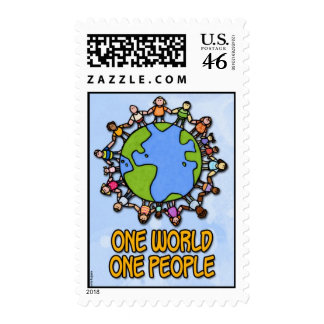 one world one people stamps