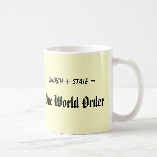One World Order Mug