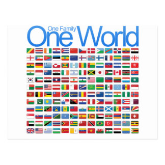 One World Postcard
