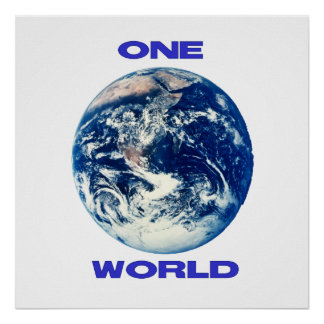 ONE World Posters
