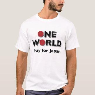 One World - Pray for Japan 2 T-Shirt