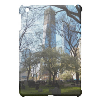 One World Trade Center Tower at St. Paul's Chapel Case For The iPad Mini