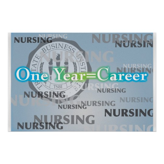One Year=Career Poster