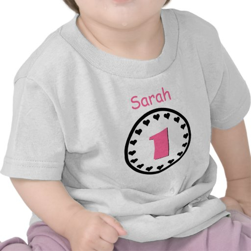 Baby Gift 1 Year Old : One year old baby girl birthday gift tee zazzle