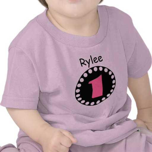 Baby Gift 1 Year Old : One year old baby girl birthday gift tee v zazzle